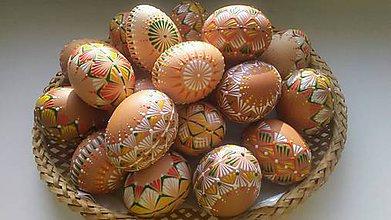 Dekorácie - Veľkonočné vajíčka... - 10478884_