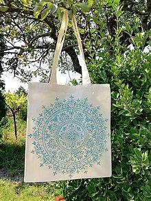 Nákupné tašky - Ľanovka ľanová eko taška - 10478854_