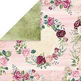 Papier - Flower Vibes 05 - scrapbook papier 12x12 inch - 10480854_