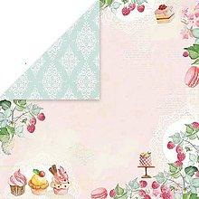 Papier - Sweet Dessert 06 - scrapbook papier 12x12 inch - 10480917_