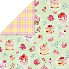 Papier - Sweet Dessert 05 - scrapbook papier 12x12 inch - 10480920_