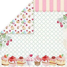 Papier - Sweet Dessert 04 - scrapbook papier 12x12 inch - 10480933_