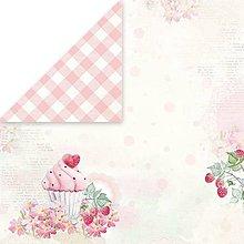 Papier - Sweet Dessert 01 - scrapbook papier 12x12 inch - 10480953_
