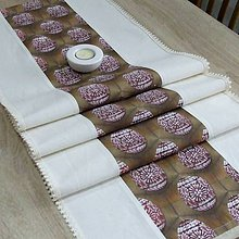 Úžitkový textil - ANGELA - veľkonočný obrus stredový 150x40 - 10481564_