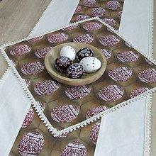 Úžitkový textil - ANGELA - veľkonočný obrúsok štvorec 40x40 - 10481625_