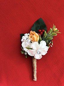 Pierka - Svadobné pierko pre ženícha, rodičov a svedkov - 10481127_