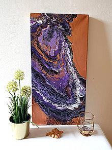 Obrazy - Achát fialový - 10479195_