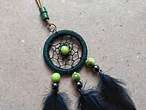 Náhrdelníky - Lapač snov Smaragden - 10482036_