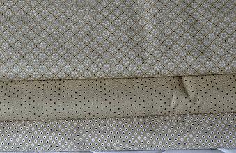 Textil - Látky béžové - 10482336_