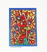Papiernictvo - ČAROVNÝ DOMČEK - klasická pohľadnica - 10478873_