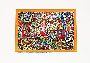 Papiernictvo - DIEVČATKO NA HOJDAČKE - klasická pohľadnica - 10478839_