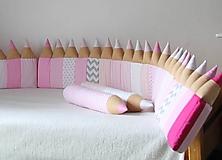 Úžitkový textil - Ružová izbička na objednávku - 10479556_
