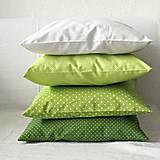 Úžitkový textil - Modro-zelená izbička na objednávku (obliečky 40x40cm) - 10479777_