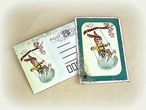 Papiernictvo - Pohľadnica s obálkou - 10480429_