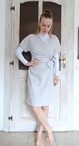 Šaty - Ľanové šaty - 10478947_