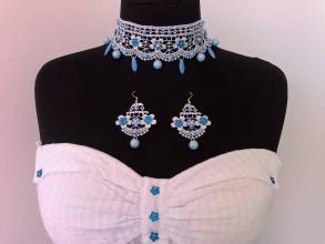 Sady šperkov - Krajková súprava VIII - 10481216_