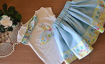 Detské súpravy - set Veľká Noc /Jar (modrý) - 10483270_
