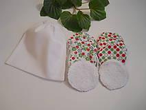 Odličovacie tampóny - Biele froté s vrecúškom