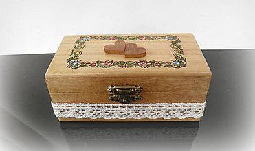 Krabičky - krabička na prstienky... - 10482877_