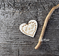 Darčeky pre svadobčanov - svadobné magnety - 10484326_