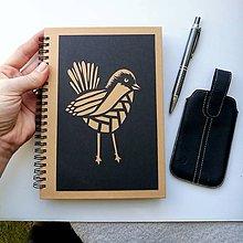 Papiernictvo - S vtáčatkom.... - 10484171_