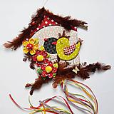 Veľká veľkonočná dekorácia / vtáčia búdka veľká (zamilovanej Čimky)
