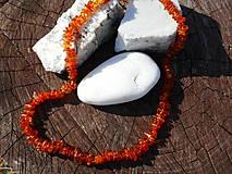 Náhrdelníky - spring sun-jantár-náhrdelník - 10486377_