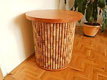 Nábytok - Korkový stolík - 10485003_