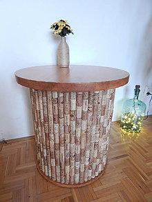 Nábytok - Korkový stolík - 10485001_