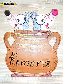 Tabuľky - Menovka - komora - 10486109_