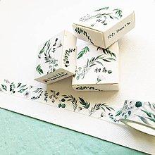 Papier - ozdobná papierová páska Sedmikrásky - 10483149_