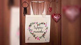 Nákupné tašky - ♥ Plátená, ručne maľovaná taška ♥ (MI5) - 10484918_