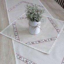 Úžitkový textil - JURAJ -  folklór v kuchyni štvorec 40x40 - 10486280_