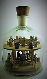 Dekorácie - Fľaša trpezlivosti - 10483812_