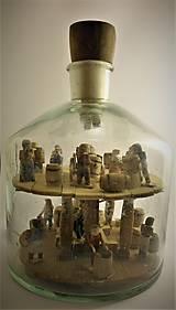 Dekorácie - Fľaša trpezlivosti - 10483817_