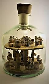 Dekorácie - Fľaša trpezlivosti - 10483818_