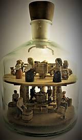 Dekorácie - Fľaša trpezlivosti - 10483819_