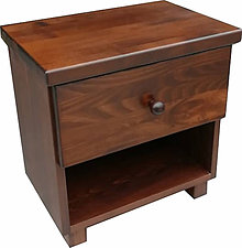 Nábytok - Nočný stolík Jack, masív, buk - 10486281_