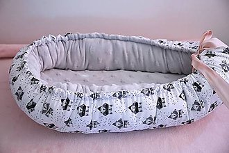 Textil - detské hniezdo - 10484321_