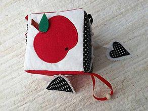 Hračky - Susugo Montessori hracia kocka. - 10483071_