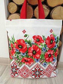 Veľké tašky - Zero Waste Eko taška Divé maky. - 10485561_