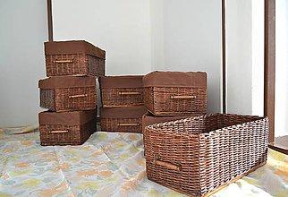Košíky - Sada čokoládových boxov SUZAN - 10484496_
