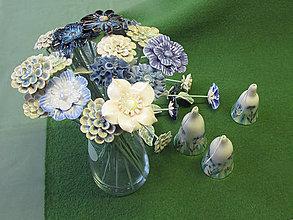 Dekorácie - Keramický kvet. - 10484775_