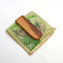 Tašky - Jabloňová spona na peniaze - 10484262_