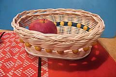 Košíky - Košík z pedigu - malý, oválny 3 - 10486205_