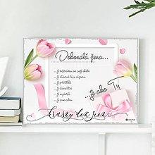 Dekorácie - (121dt) Dokonalá žena..., tulipány - 10487906_