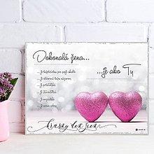Dekorácie - (126dt) Žena ako si TY.. tulipány - 10487935_