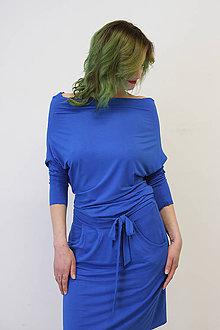 Šaty - VARIA Modrá - šaty - 10487684_