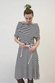 Šaty - VANDA Pruhovaná - šaty - 10487727_