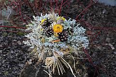 Dekorácie - Sušená kytica - 10488109_